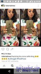 Angry Fan Calls Out Toke Makinwa on IG. Tags Her a Lesbian